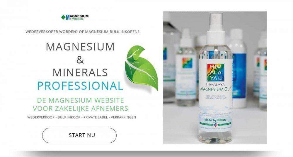 Magnesium olie van Magnesium & Minerals